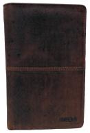 Nabo nahkainen RFID-lompakko, NK-206, ruskea