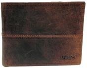 Nabo nahkainen RFID-lompakko, NK-208, ruskea