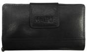 Nabo nahkainen RFID-lompakko, NK-214, musta