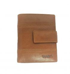 Nabo nahkainen RFID-lompakko NK-244, chestnut brown