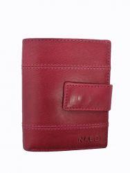 Nabo nahkainen RFID-lompakko NK-244, fuchsia