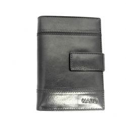 Nabo nahkainen RFID lompakko, NK-245, musta