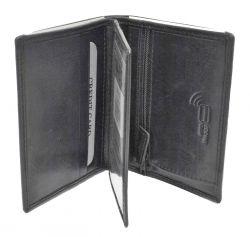 Nabo nahkainen RFID-lompakko, NK-253, musta
