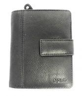 Nabo nahkainen RFID-lompakko NK-258, musta