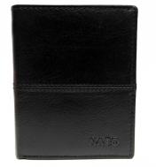 Nabo, miesten nahkainen RFID lompakko NK-203, musta
