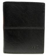Nabo, miesten nahkainen RFID lompakko NK-203, tummanruskea