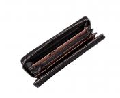 The Monte nahkainen RFID lompakko, 62820, musta