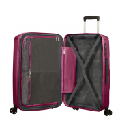 American Tourister Sunside suuri matkalaukku, rasberry