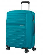 American Tourister Sunside keskisuuri matkalaukku, teal