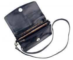 The Monte nahkainen lompakkolaukku, 6079510, musta