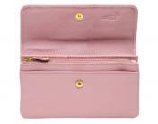 A.Eriksson RFID nahkalompakko, 113-694, roosa