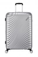 American Tourister Jetglam, suuri matkalaukku, Silver
