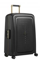 Samsonite S'Cure DLX, keskisuuri matkalaukku, Black/Gold