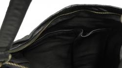 Re:Designed 1656 nahkainen olkalaukku, musta