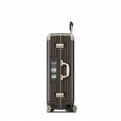 Rimowa Limbo Electronic Tag, suuri 87 l, Granite Brown