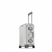 Rimowa Topas Cabin 53 Multiwheel, lentolaukku 34 l, alumiini