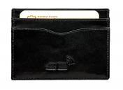 A.Eriksson nahkainen RFID-korttikotelo, 655-204, musta