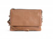 Still Nordic Anouk multi Crossbody nahkainen olkalaukku, Indian tan