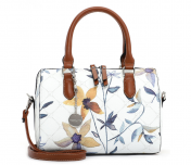 Tamaris Anastasia Flower käsilaukku, valkoinen