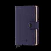 Secrid Miniwallet, Matte Purple Rose