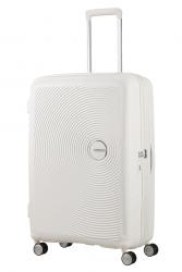 American Tourister Soundbox, suuri, Pure white