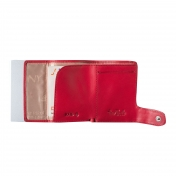 Tony Perotti Italy, RFID nahkalompakko, punainen