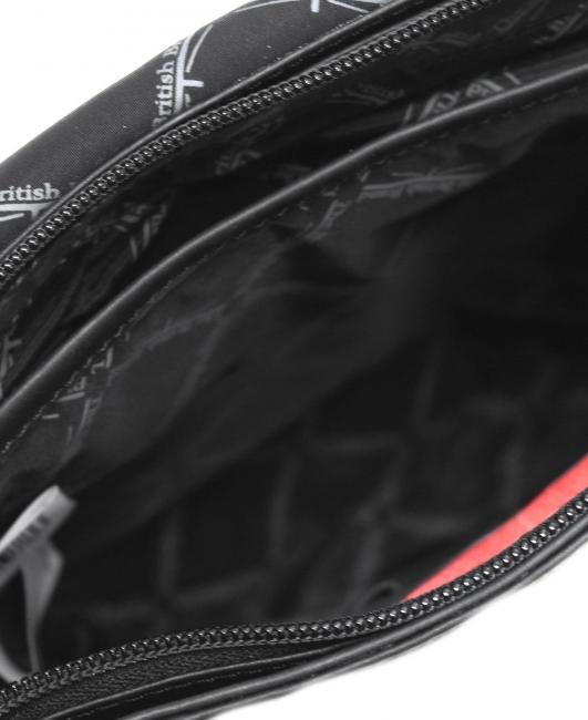 Olkalaukku Tablet : The british brand nahkainen olkalaukku lbb musta