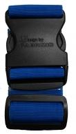 Fabrizio matkalaukkuremmi, sininen