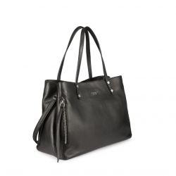 Tosca Blu Lisbona nahkainen käsilaukku, musta